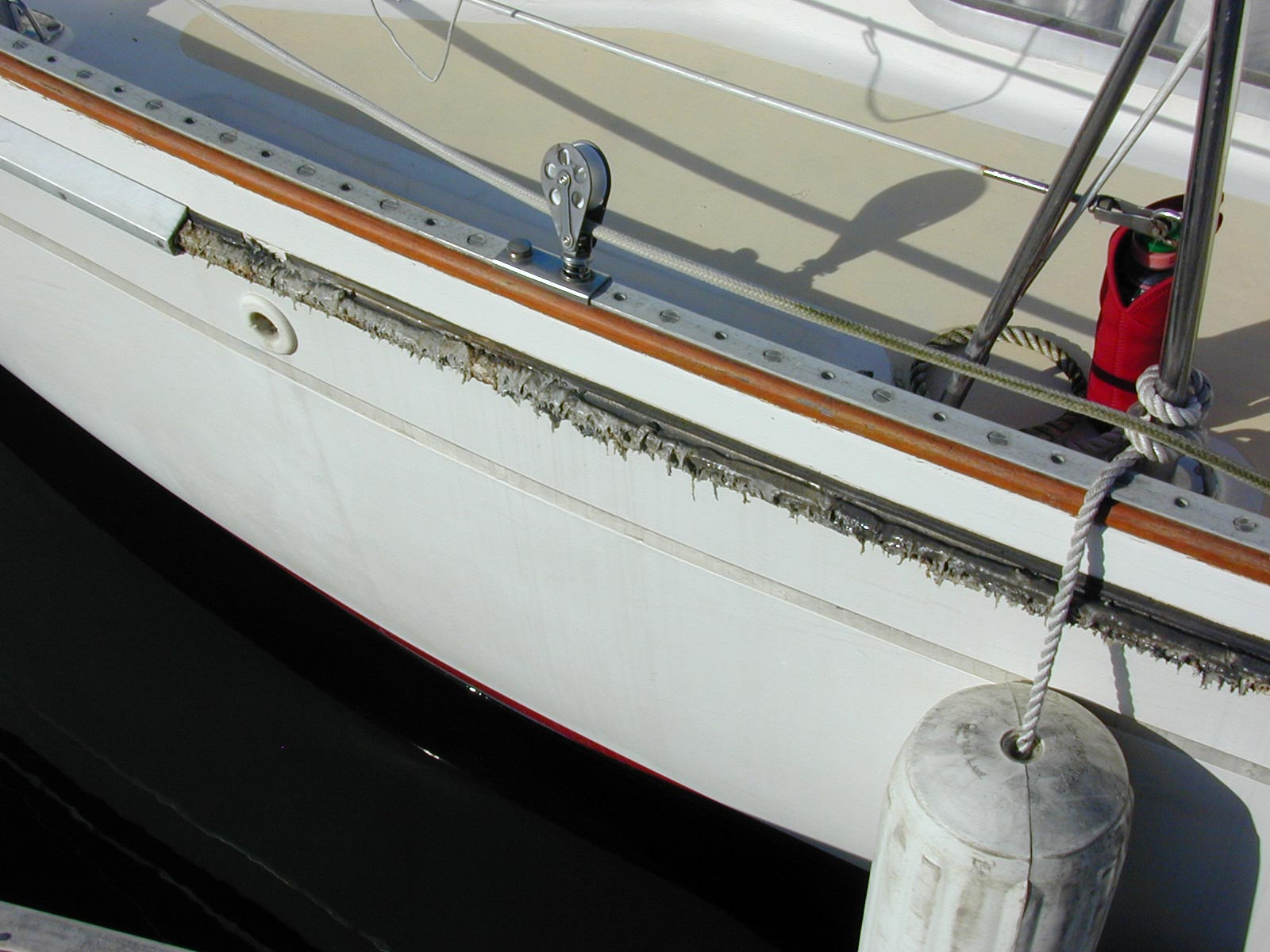 Hull Deck Joint
